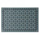 conjunto de mesa de mosaico de vinilo bl 45x30, az
