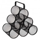 wholesale Food & Beverage: wine rack x6 mayaj, black