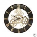 wholesale Clocks & Alarm Clocks: pendulum meca metal d67, black