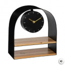 24x27 metal / wood shelf pendulum, 2- times assort