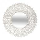 mirror mdf openwork ritual d90, white
