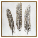 lienzo impreso / cad / re pluma 58x58, marrón