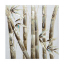 bamboo pei 58x58, 2- times assorted , multicolor
