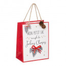 tradi mod g + pm printed gift bag