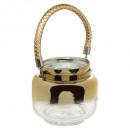 nagyker Lámpások: lámpa lámpás craq d14x13cm arany