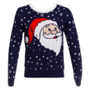 wholesale Pullover & Sweatshirts: funny christmas sweater h sm / l-xl, 4- times asso