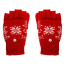 wholesale Gloves: adult accessories pair winter gloves, 4-fold assor