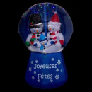 santa claus inflatable led / mus boul 180cm