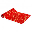 hot plush fabric 28x300cm rg, 4- times assorted