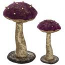 grossiste Bijoux & Montres: plf champiguirlande perle x2 h36cm