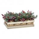 grossiste Jardin et bricolage: bch compo fleurs pot jute