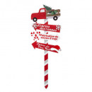 wooden sign truck 105cm