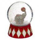 hurtownia Upominki & Artykuly papiernicze: snow globe bear ele 65mm 2ass, 2- razy mieszany