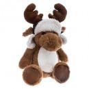 wholesale Dolls &Plush: plush elan brown chapka h32cm