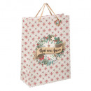 g + gm cement pop up gift bag