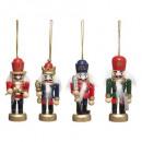 hurtownia Dom & Kuchnia: Świąteczna dekoracja dziadka do orzechów h8cm x4