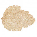 set table gold leaf 47cm