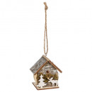 Christmas decoration house artificial tree + reind