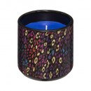 Jungle scented candle with ceram print 200g