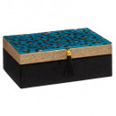 jewelery box leopard print 21cm