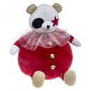 wholesale Dolls &Plush:plush panda circus h37cm