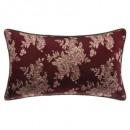 Pillow floral bdx gold 30x50cm