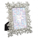 wholesale Pictures & Frames: obj frame corals 2 plate h26cm, 2- times assorted