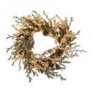 grossiste Bijoux & Montres: couronne branche perles 45cm