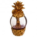 80mm leop pineapple snow globe