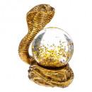 boule neige serpent 45mm 2ass, 2-fois assorti