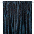 leopard print curtain blue 145x250
