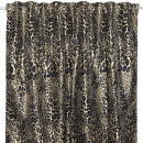gold leopard print curtain 145x250