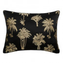 Pillow palm tree embroidery 45x60cm