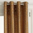 cortina de lúrex pavo real oc 140x260, ocre