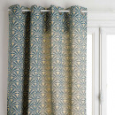 cortina jacq cheni 140x260, azul