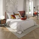 wholesale Home & Living: cot lav tuft set iv 240x220, ivory