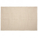 jute cross rug 120x170, medium beige