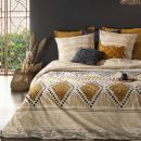 wholesale Bedlinen & Mattresses: printed set ray kilim 240x220, ocher