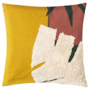 Pillow musa print 40x40, 2- times assorted , multi