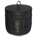 scented candle ceramic flower 190g, 3-fold ass