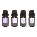 fragrance oil 10ml x 4, 2- times assorted , black