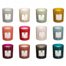 mael expo scented candle 190g, 12- times assorted
