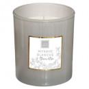 Myrrh mael scented candle 190g, light gray