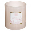 scented candle rose patc mael 190g, light pink