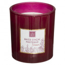 scented candle acai past mael 190g, bordeaux