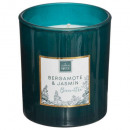 berg jas mael scented candle 190g, dark green