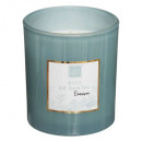 Sandalwood mael scented candle 190g, light green