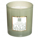 scented candle eucalypt mael 190g, light green