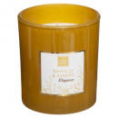 scented candle van amber mael 190g, mustard