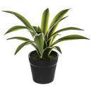 agave real touch pot h18, green